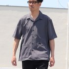 More photos1: リネンライクCANAPA オープンカラー ハーフスリーブシャツ【MADE IN JAPAN】『日本製』/ Upscape Audience
