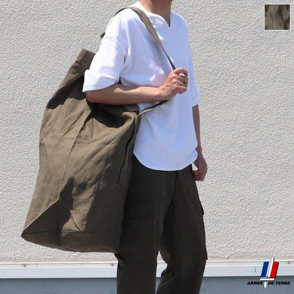 画像1: DEADSTOCK/ FRENCH ARMY DUFFEL BAG(フランス軍 ダッフルバッグ)