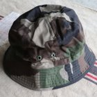 More photos2: DEAD STOCK / FRENCH ARMY BUSH HAT(フランス軍 ブッシュハット)/ウッドランドカモ