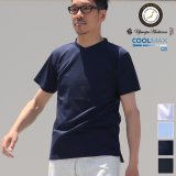 Coolmax(クールマックス)鹿の子 V/N S/S Tee【MADE IN JAPAN】『日本製』/ Upscape Audience