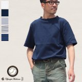 【RE PRICE/価格改定】セーターライク天竺オフネックS/Sカットソー【MADE IN JAPAN】『日本製』/ Upscape Audience