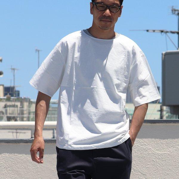 画像2: コットンクロスビッグS/S_ShirtsTEE【MADE IN JAPAN】『日本製』 / Upscape Audience