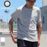 USAファブリック丸胴国産ポケットTEE【FABRIC MADE IN USA】【ASSEMBLED IN JAPAN】『日本製』