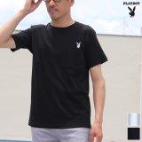 "PLAY BOY""ラビットヘッド""刺繍ポケット付きTEE【Audience】"
