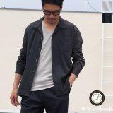 イージーケアレーヨンポリ オープンカラーL/Sシャツ【MADE IN JAPAN】『日本製』/ Upscape Audience