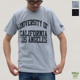 "【RE PRICE / 価格改定】UCLA""UNIVERSITY CALIFORNIA LOS ANGELES""C/N S/S 6.6oz オールドプリントT / Audience"