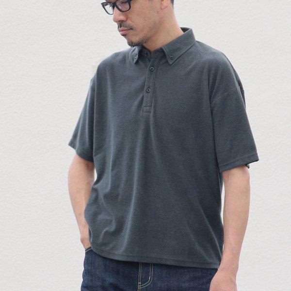 画像2: コットンパイル ビッグサイズ ポロシャツ【MADE IN JAPAN】『日本製』/ Upscape Audience