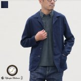 【RE PRICE / 価格改定】綿麻ムラ糸サージドライビング_Jacket【MADE IN JAPAN】『日本製』/ Upscape Audience