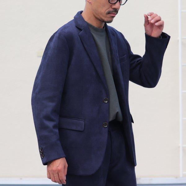 画像2: ダンボールスエード 2B テーラードジャケット【送料無料】  / Audience