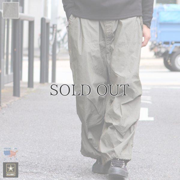画像1: DEAD STOCK / U.S.Army Snow Camo Pants Medium-Short /Regular 後染め(Olive)/Rebuild(貫通ポケット箇所ポケット袋作成)【送料無料】