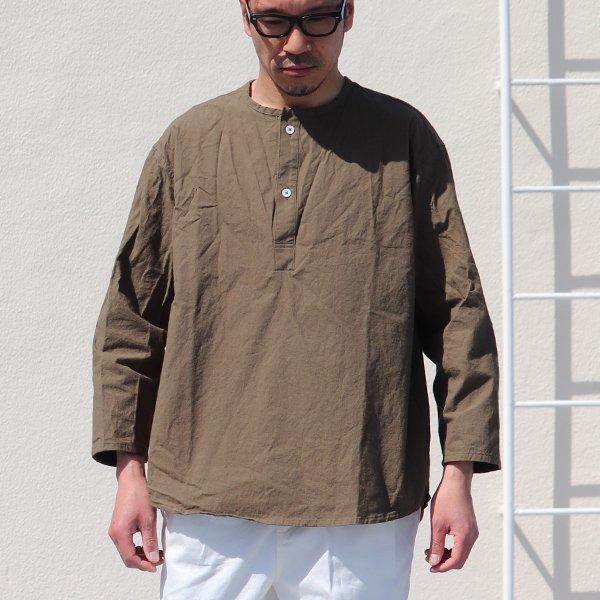 画像2: 馬布ヴィンテージフィニッシュクルーネックスリーピングシャツ【MADE IN JAPAN】『日本製』/ Upscape Audience