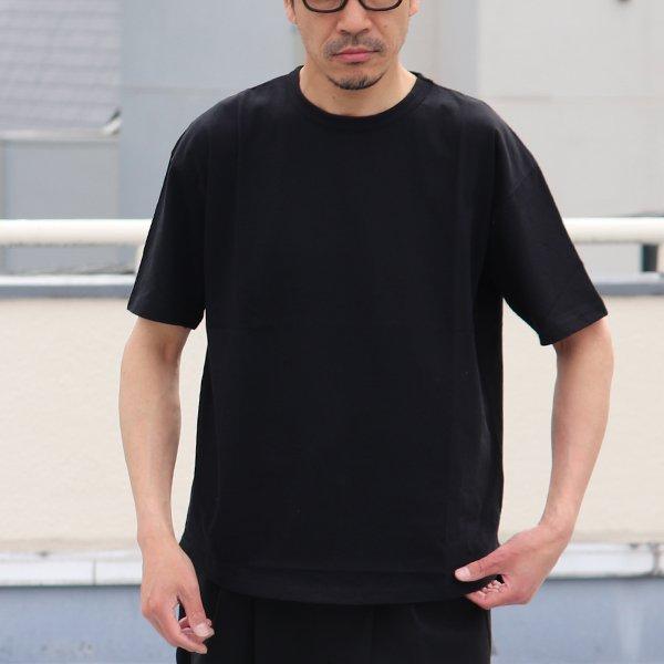画像2: コーマ天竺 C/N ヘムラウンド ビックTee【MADE IN JAPAN】『日本製』/ Upscape Audience