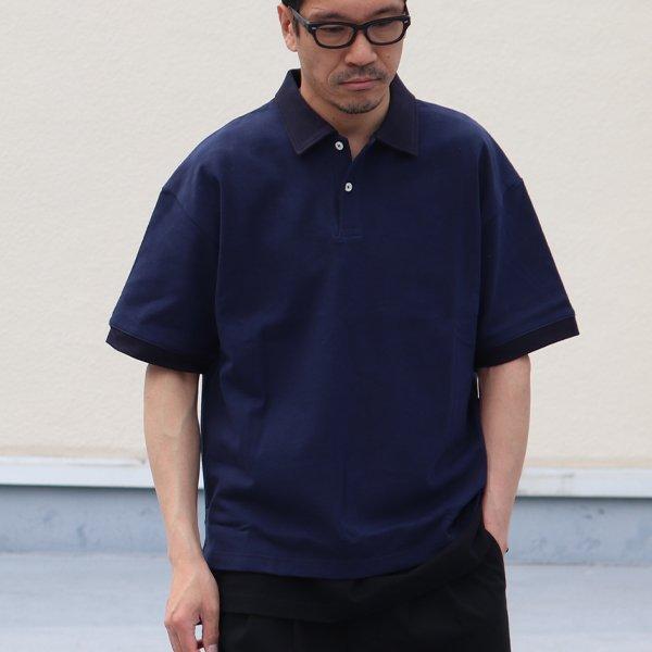 画像2: Basque 10オンス ( バスク天竺 ) ビッグポロシャツ【MADE IN JAPAN】『日本製』/ Upscape Audience