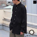 6オンス オックスフォード ボタンダウン 長袖 ボクシーシャツ【MADE IN JAPAN】『日本製』/ Upscape Audience