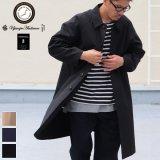 VENTILE(ベンタイル)40/2耐水撥水ギャバステンカラーコート【MADE IN JAPAN】『日本製』【送料無料】 / Upscape Audience