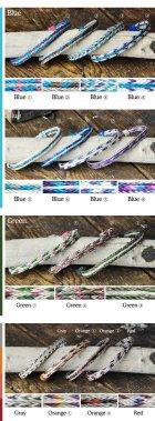 More photos2: 【カラー追加】ホースヘアー編み上げカラーブレスレット / Colorado Horsehair