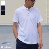 【RE PRICE/価格改定】Coolmax(クールマックス)鹿の子ハリケーントップ半袖ポロシャツ / Audience