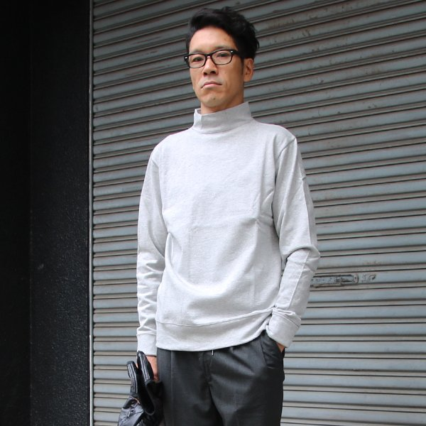 画像2: BSQ度詰天竺プロテクトボッシュハイネックカットソー【MADE IN JAPAN】『日本製』/ Upscape Audience