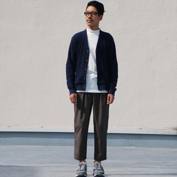 画像2: コーマ天竺モックネック長袖Tシャツ【MADE IN JAPAN】『日本製』/ Upscape Audience