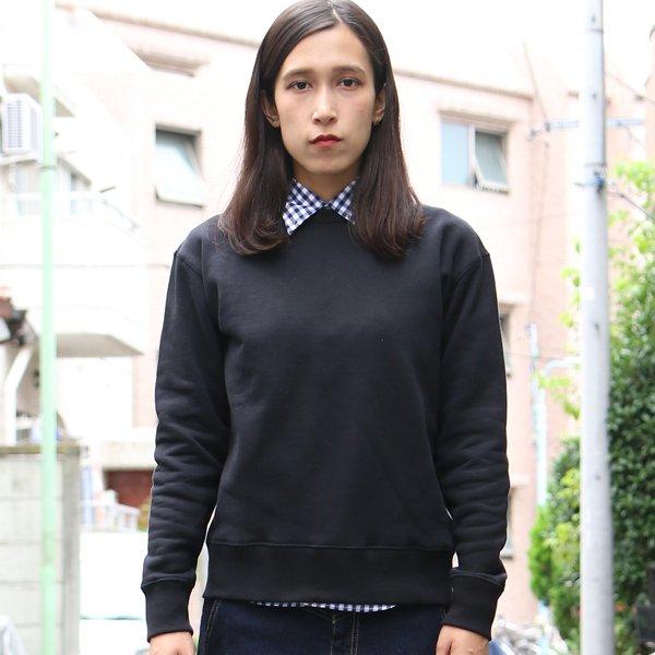 画像2: 度詰裏毛ドロップショルダークルーネック長袖スウェット [Lady's]【MADE IN JAPAN】『日本製』/ Upscape Audience