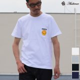 "7.1oz丸胴米綿ボディースマイル""S-F""ポケットTEE 【RE-STOCK】 / Audience"