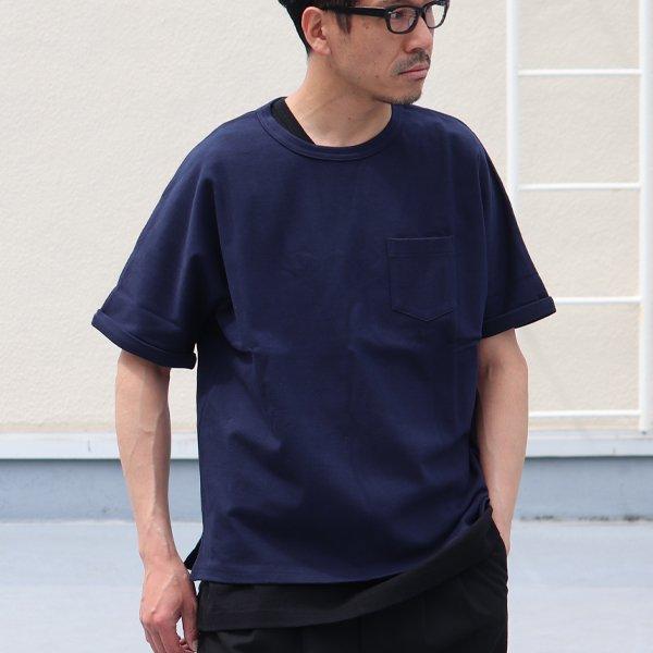 画像2: Basque 10オンス ( バスク天竺 )無地&ボーダービッグポケT【MADE IN JAPAN】『日本製』/ Upscape Audience