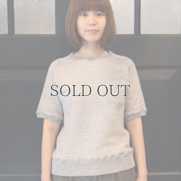 画像2: 度詰裏毛サドルショルダーS/Sスウェット [Lady's] 【MADE IN JAPAN】『日本製』/ Upscape Audience