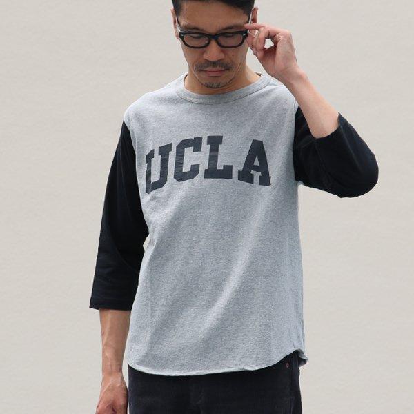 """画像2: オールドプリント""""UCLA""""ヴィンテージセットインベースボールアンダーTEE / Audience"""