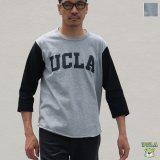 """オールドプリント""""UCLA""""ヴィンテージセットインベースボールアンダーTEE / Audience"""