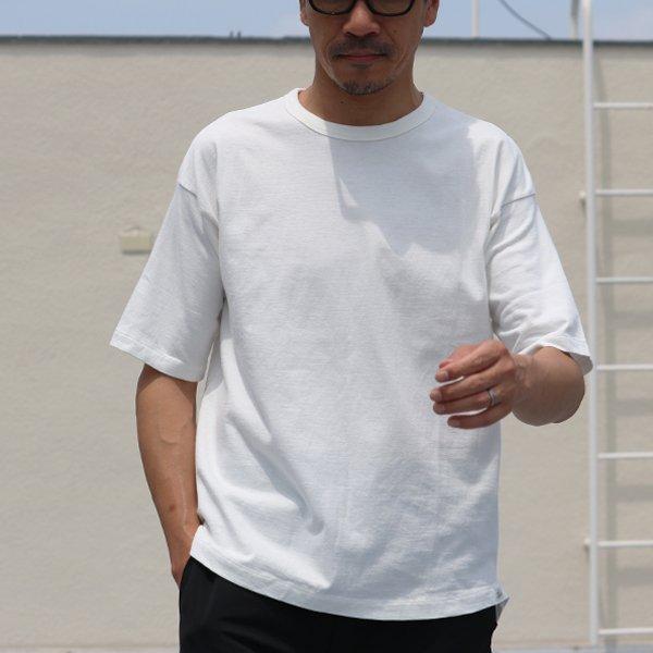 画像2: 吊り編み天竺クルーネック5分袖ビッグTEE【MADE IN TOKYO】『東京製』  / Upscape Audience