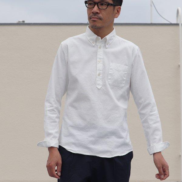 画像2: オックスナローカラーボタンダウンプルオーバーL/Sシャツ【MADE IN JAPAN】『日本製』/ Upscape Audience