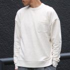 More photos1: スウェットセットインスリーブ グラスポケット付きC/N LS【MADE IN JAPAN】『日本製』/ Upscape Audience