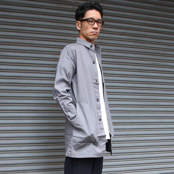 画像2: 【RE PRICE / 価格改定】オックスフォードアトリエシャツコート【MADE IN JAPAN】『日本製』/ Upscape Audience