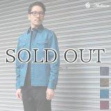 硫化染めストレッチツイルヴィンテージARMYシャツジャケット / Audience