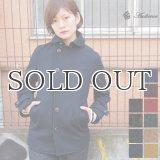 840gピュアウールメルトンショールカラージャケット [Lady's]【送料無料】/ Audience