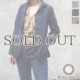 綿麻ムラ糸サージドライビング_Jacket[Lady's]【MADE IN JAPAN】『日本製』【送料無料】/ Upscape Audience