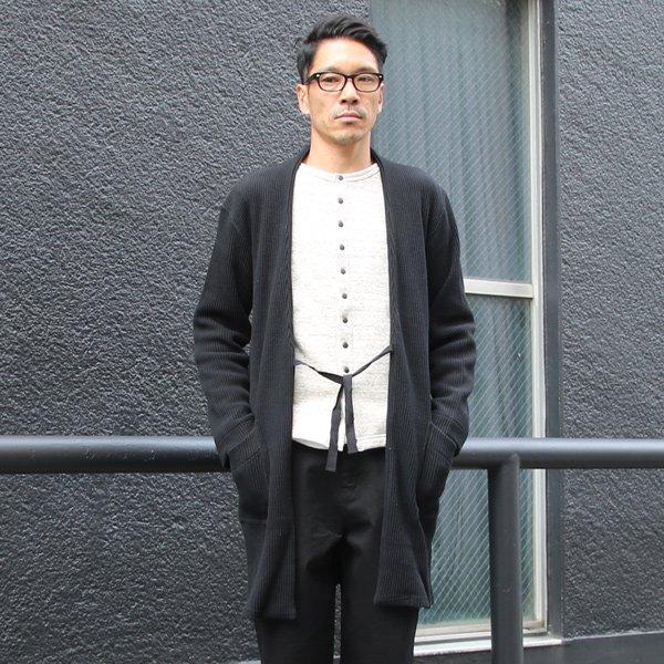 画像2: ビッグワッフルキモノガウンコート【MADE IN JAPAN】『日本製』【送料無料】  / Upscape Audience