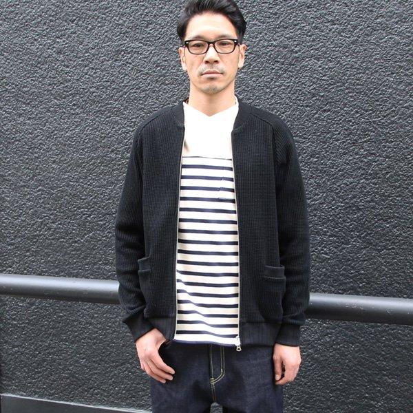 画像2: ビックワッフルMA1ブルゾン【MADE IN JAPAN】『日本製』 / Upscape Audience