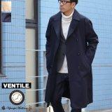 """""""VENTILE""""ギャバロングトレンチコート『日本製』【送料無料】  / Upscape Audience"""