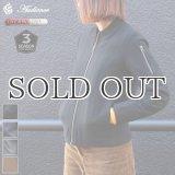 610gウールメルトン裏ダイヤキルトMA-1ジャケット【レディース】【送料無料】 / Audience