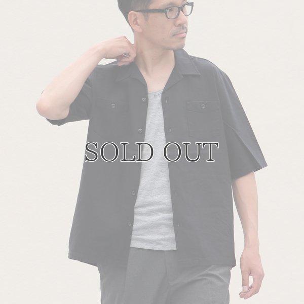 画像2: ソフトリネンコットンキャンバスオープンカラー5/Sシャツジャケット【MADE IN JAPAN】『日本製』/ Upscape Audience