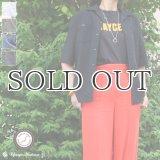 ソフトリネンコットンキャンバスオープンカラー5/Sシャツジャケット【MADE IN JAPAN】『日本製』/ Upscape Audience