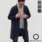 ヨコムラバックサテン 3Bクラークコート 【送料無料】『日本製』/ Upscape Audience