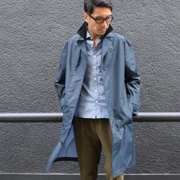 画像2: 3レイヤー撥水透湿ナイロンUK ARMYコート【MADE IN JAPAN】『日本製』【送料無料】  / Upscape Audience