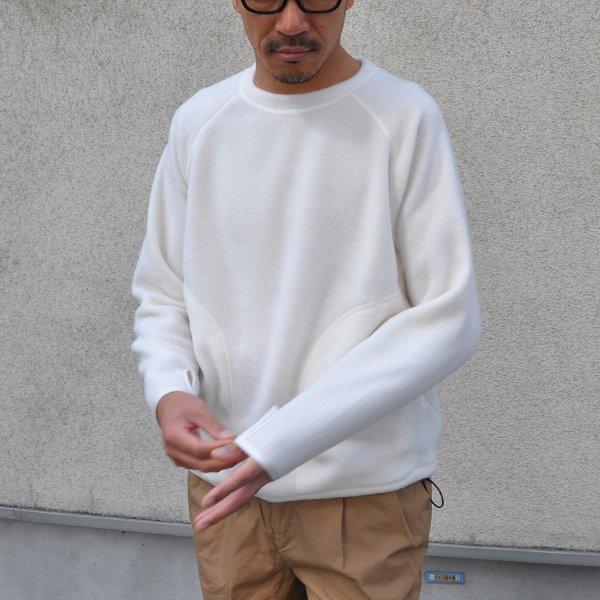 画像2: アンチピリング フリース ハンドウォーマーポケ付 C/N LS【MADE IN JAPAN】『日本製』/ Upscape Audience