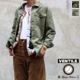 """VENTILE""60/2ギャバ ファティーグジャケット「Lady's」【MADE IN JAPAN】『日本製』 / Upscape Audience"