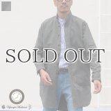 グリストーンW アーミーコード ポケ付 ローマシャツコート【MADE IN JAPAN】『日本製』/ Upscape Audience