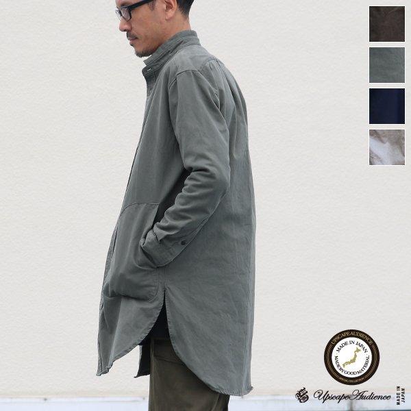 画像1: グリストーンW アーミーコード ポケ付 ローマシャツコート【MADE IN JAPAN】『日本製』/ Upscape Audience