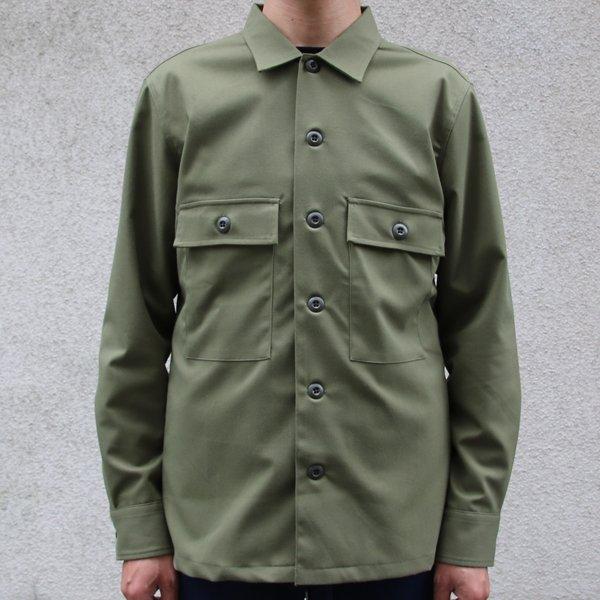 画像2: ギャバジンストレッチ M-45ジャケット【MADE IN JAPAN】『日本製』 / Upscape Audience【ご予約・9月下旬予定】