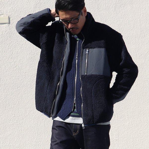 画像2: 【イタリアンファブリック】トスカーナボア レトロZ ジャケット【MADE IN JAPAN】『日本製』【送料無料】/ Upscape Audience